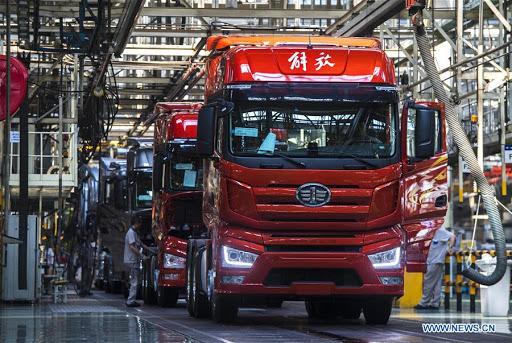 Китайски производител на камиони с 60 % ръст за 2 месеца