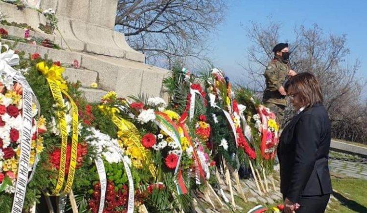 Нинова празнува 3 март в Пловдив