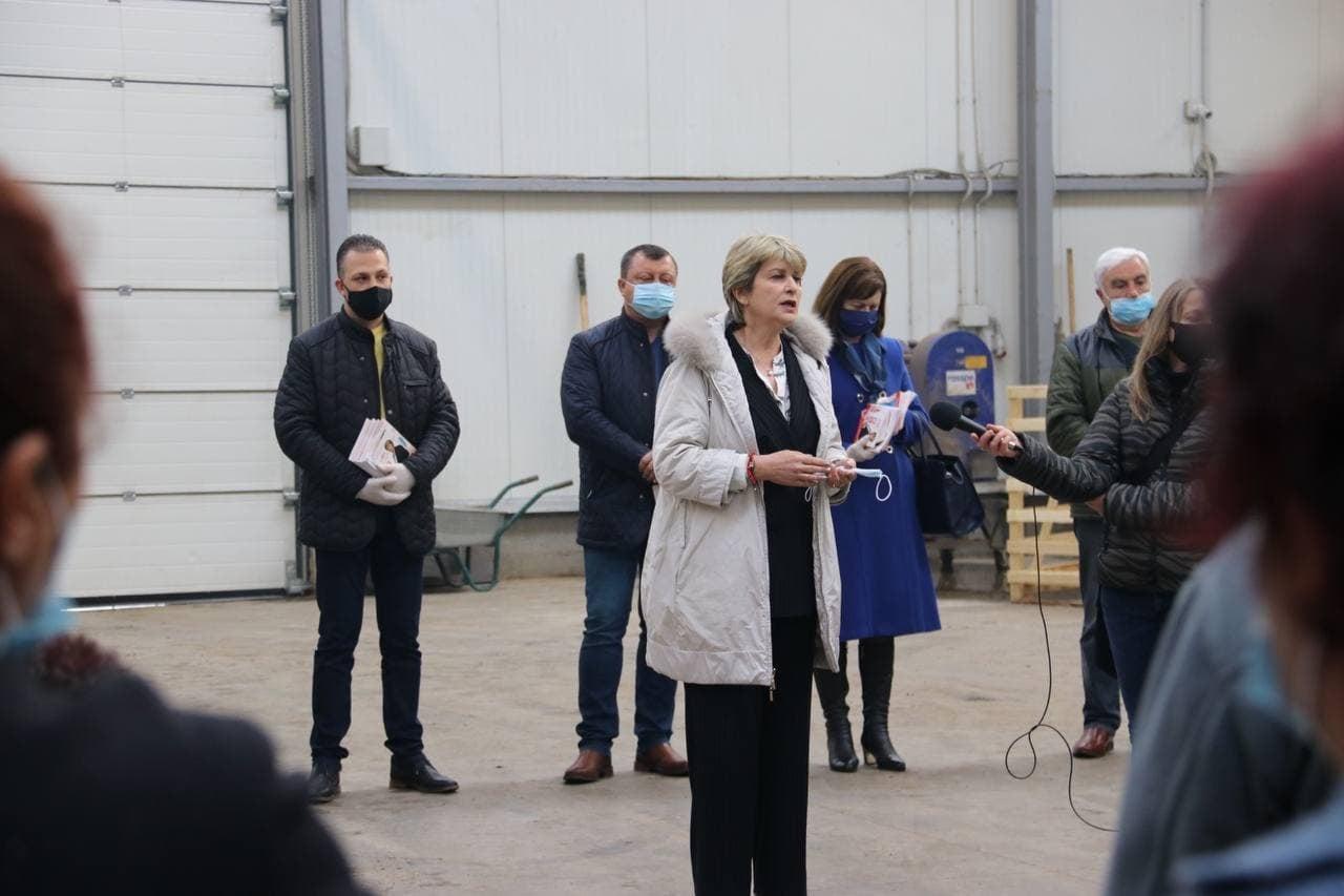 Весела Лечева: Ще подпомагаме сектори, които създават повече работни места