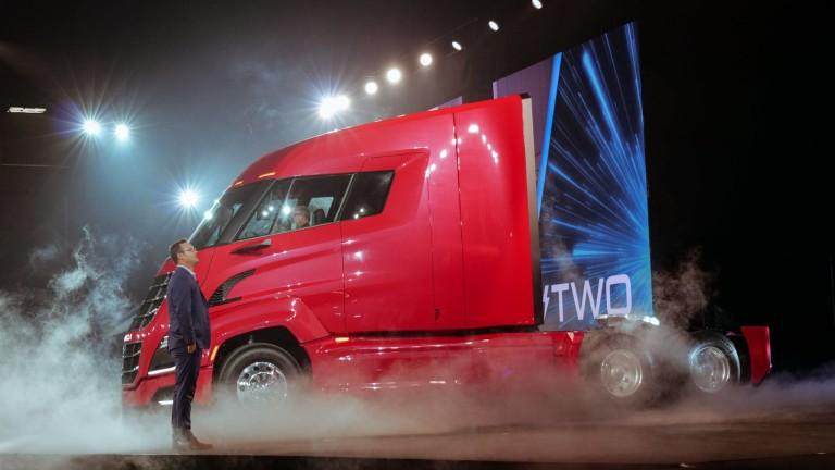 Китайска компания пусна камион задвижван с водородни горивни клетки