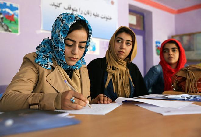 афганистан жени