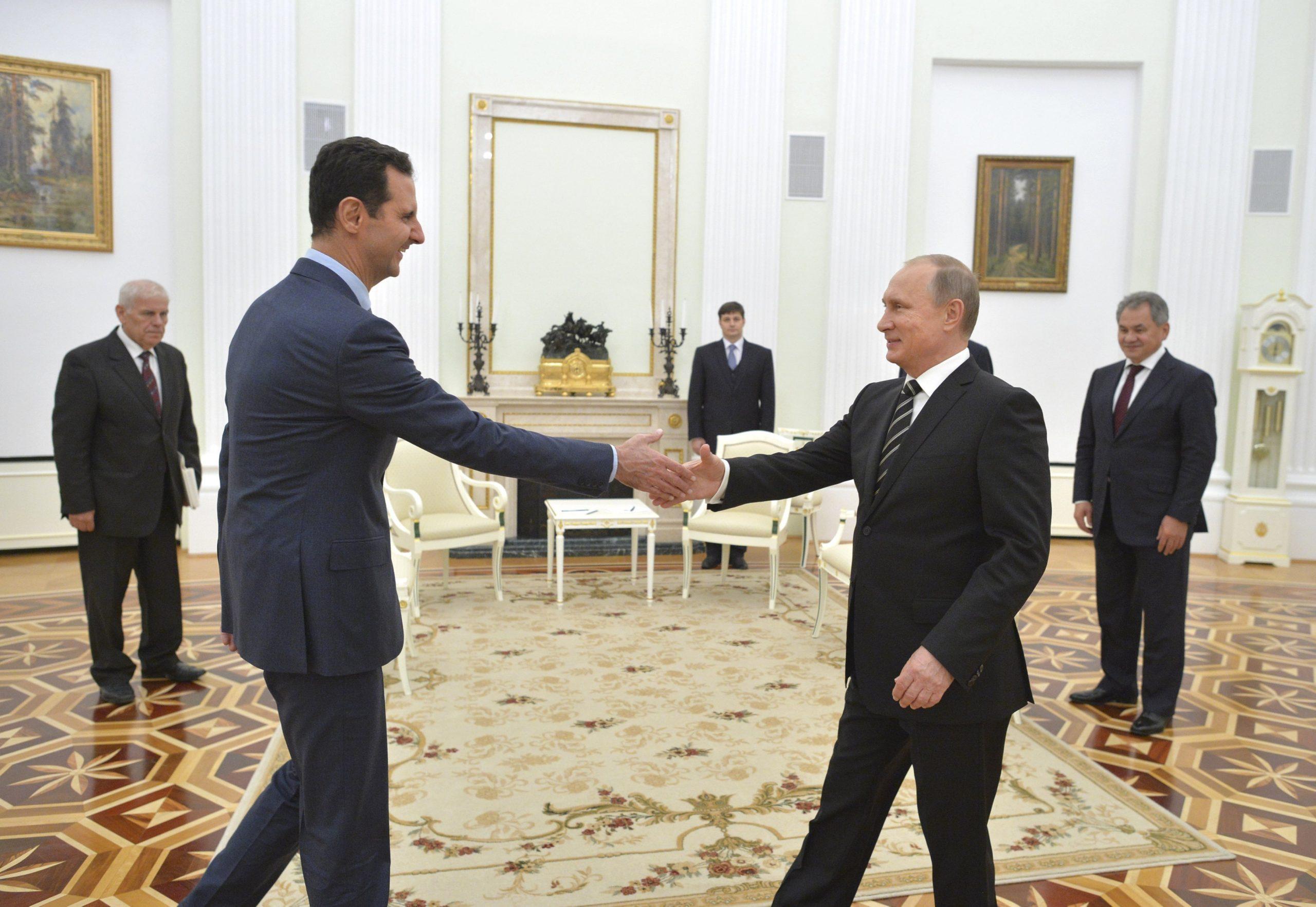 Путин Асад