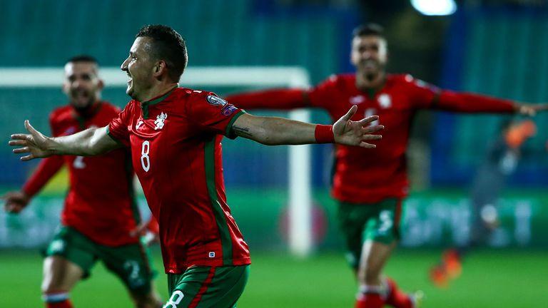 неделев България футбол национален отбор